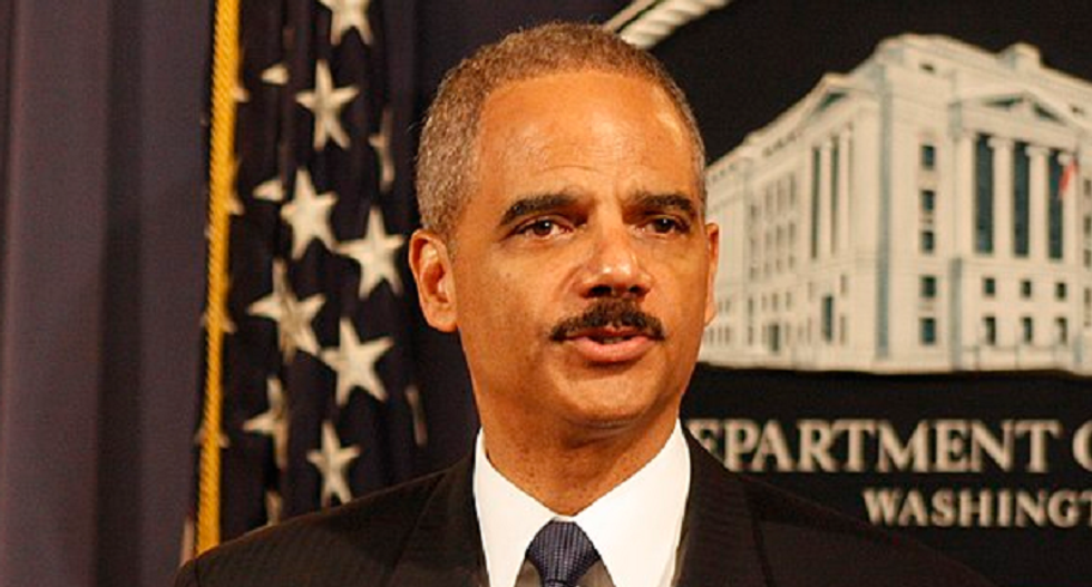 Eric Holder: Progressives will 'beat the hell out of' conservatives if they fight for fair elections