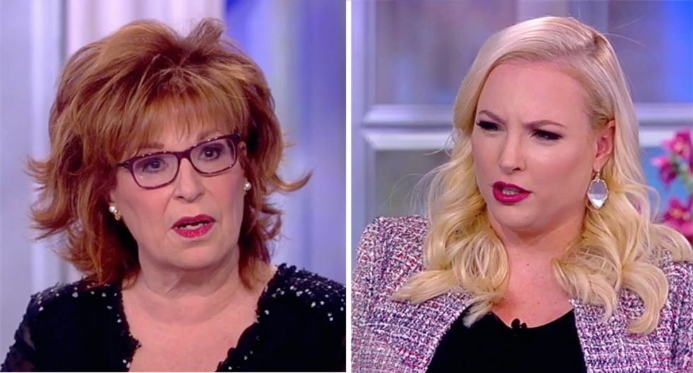The View's Meghan McCain responds to FBI raid on Michael Cohen by calling on Mueller to 'wrap up' Russia probe