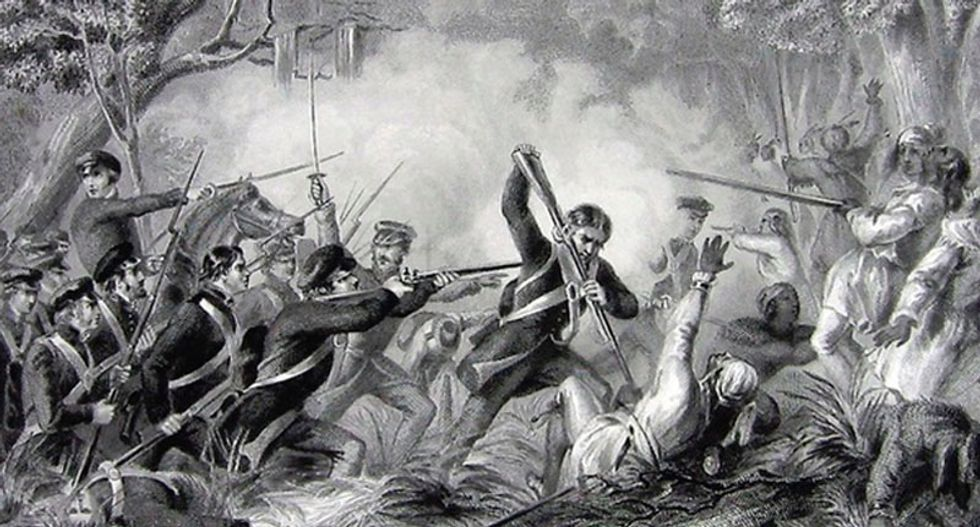 The black and Native American freedom fighters who defeated the US Army on Christmas Day