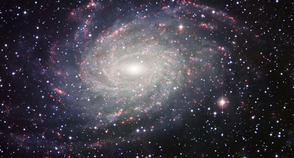 Galactic collisions reveal first signs of self-interacting dark matter