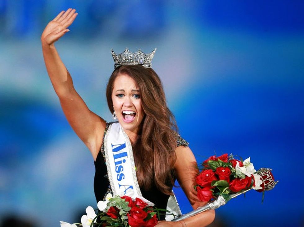 New Miss America 2018 smacks down President Trump on climate change
