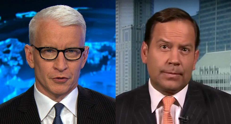 CNN's Anderson Cooper holds Trump surrogate's feet to the fire as he dodges and makes excuses