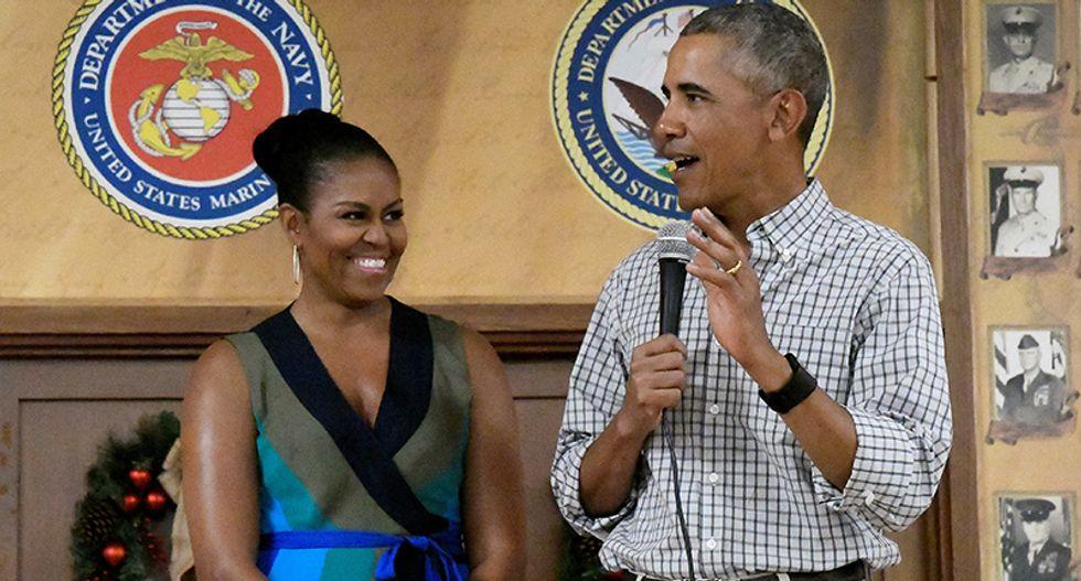 Secret Service intercepts suspicious package sent to Barack and Michelle Obama