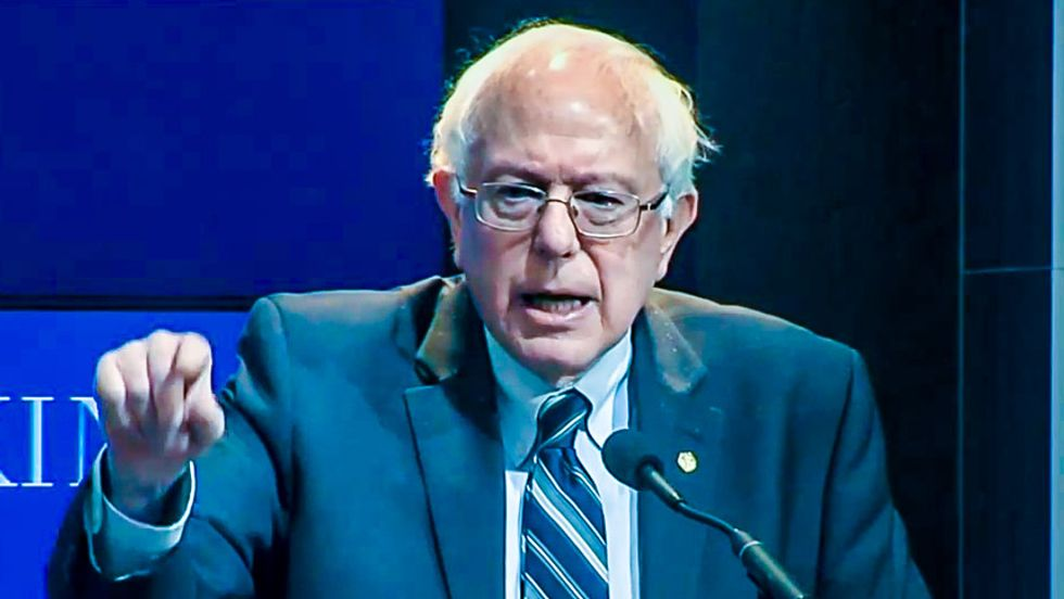 Bernie Sanders has been against the CIA's role in destroying democracy since his early days