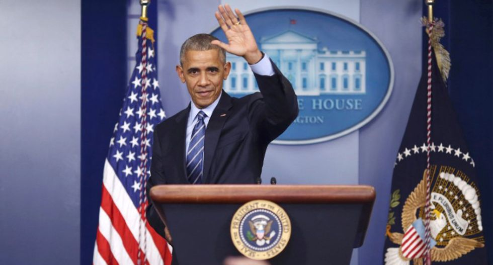 Watch President Barack Obama hold his last press conference from the White House