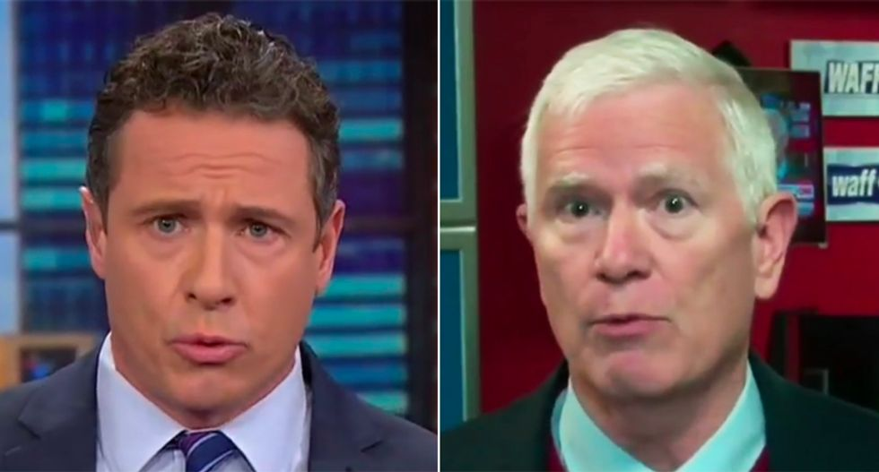WATCH: CNN's Chris Cuomo jumps all over Alabama Republican for dismissing White House domestic abuse as 'soap opera news'