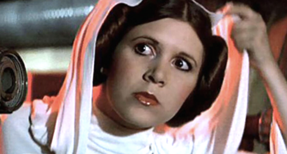 Carrie Fisher makes posthumous return to 'Star Wars'