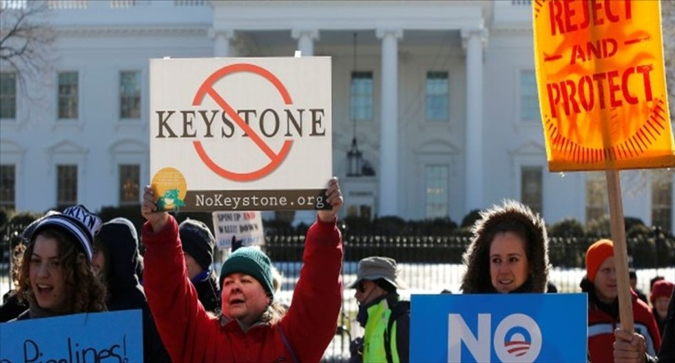 Keystone XL bill passes in 270-151 House vote amid veto threat from Obama