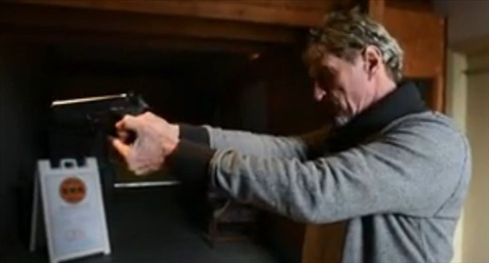 Tech mogul John McAfee reveals he now lives in Tennessee and is 'constantly armed'