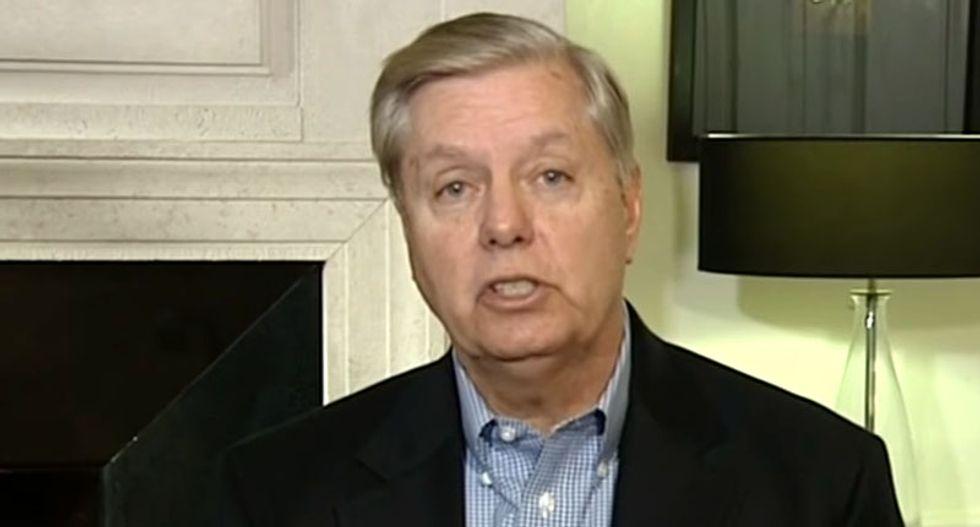Lindsey Graham shoots down Trump's denials: 99 senators believe Russia behind DNC hacks