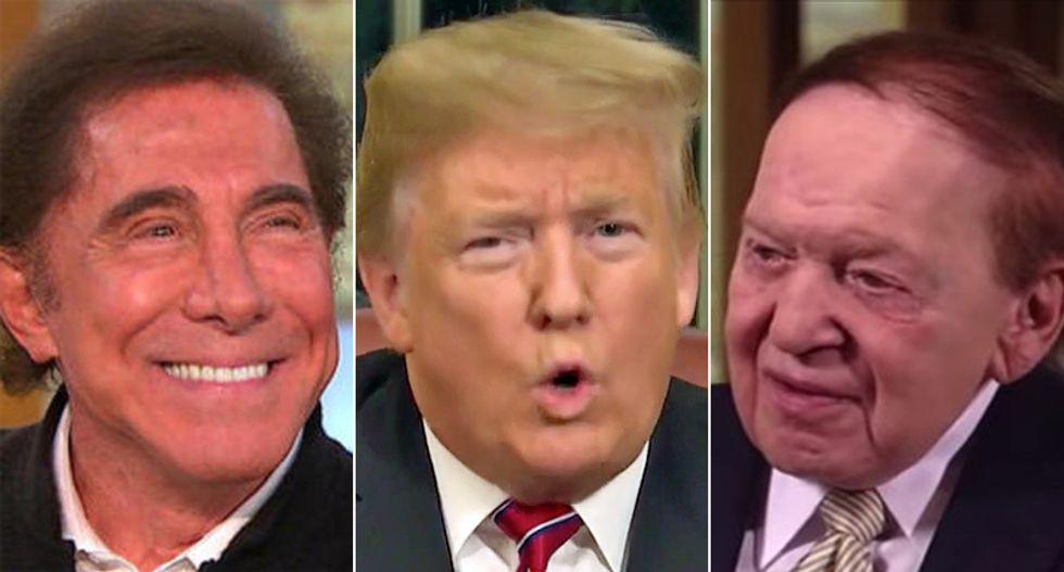 Two controversial Republican billionaires met with Trump in Las Vegas: report