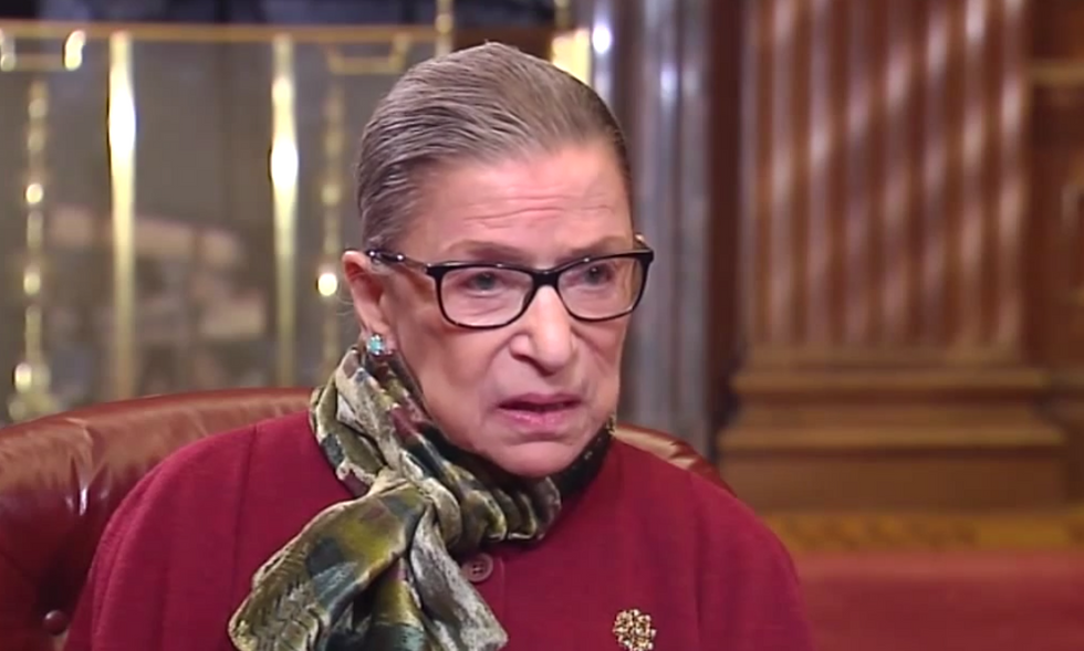 Ruth Bader Ginsburg tips her hand: Same-sex marriage is coming, so get used to it