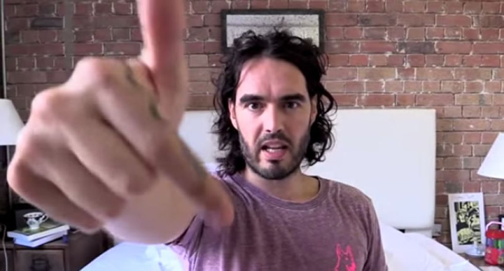 Russell Brand slams corrupt banks: People need to remember who is really 'f*cking them over'