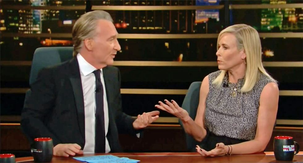 Chelsea Handler comes to Joe Biden's defense during Real Time appearance with Bill Maher