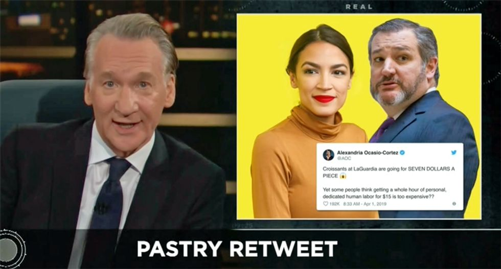 Bill Maher suggests Ted Cruz has a shoe fetish after the Republican's Twitter meltdown