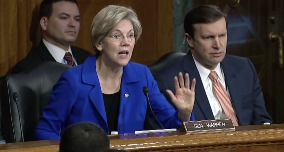 Congressman calls on bankers to 'neuter' Elizabeth Warren -- the 'Darth Vader' of Wall Street