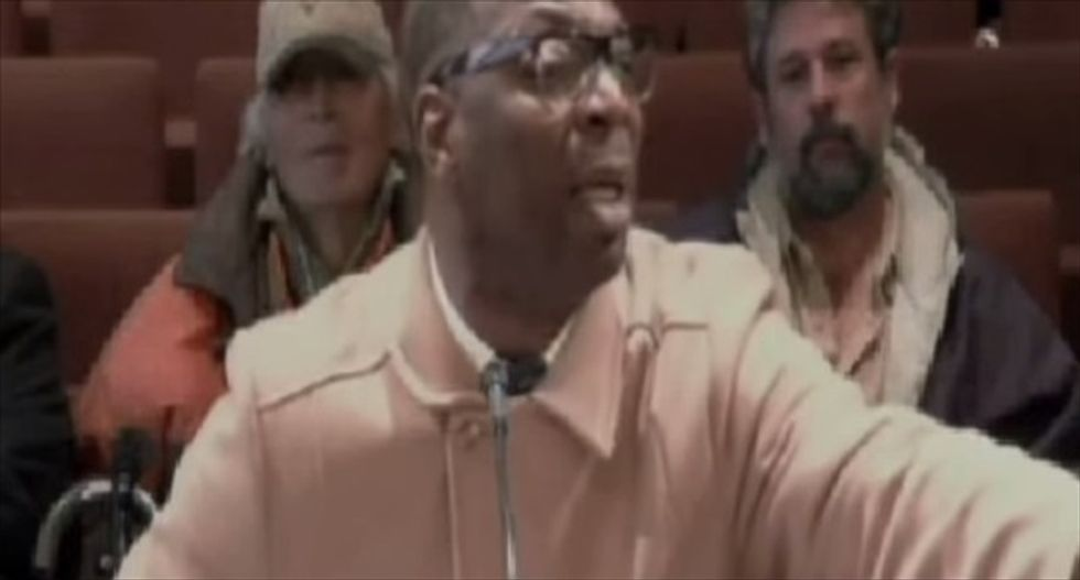 This preacher's twisted anti-gay rant to an Alabama city council is both vile and absurd