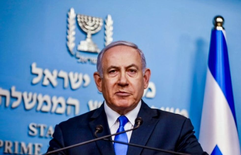 Netanyahu's annexation pledge condemned by election challenger