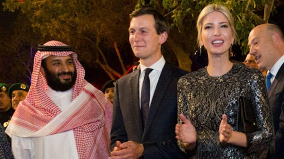Jared Kushner headed to Saudi Arabia after Middle East peace plan flops