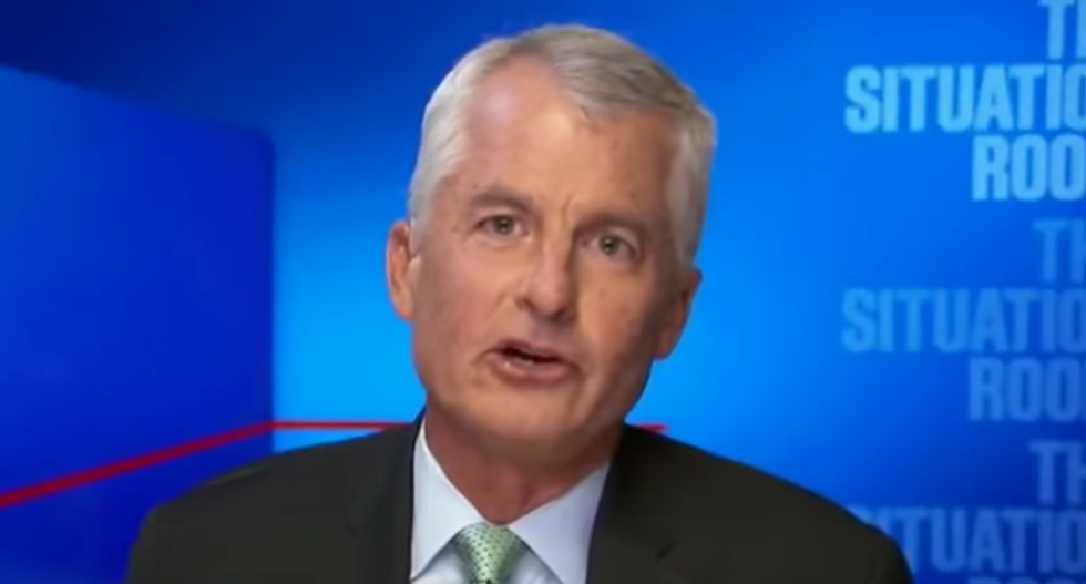 'He's sinking into irrelevance': CNN's Phil Mudd claims Trump's weekend Twitter meltdown proves he has lost control