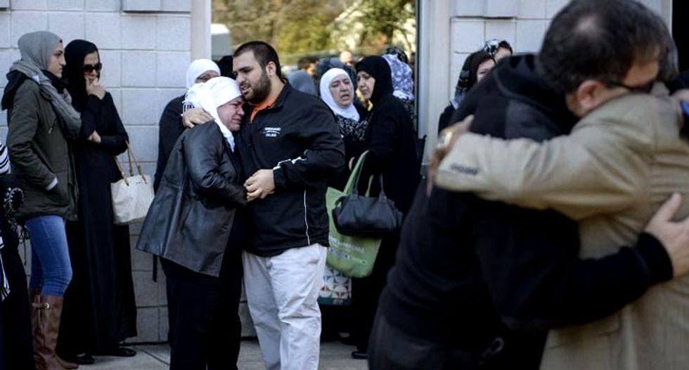 North Carolina Muslims call for harmony after brutal slaying of Chapel Hill students