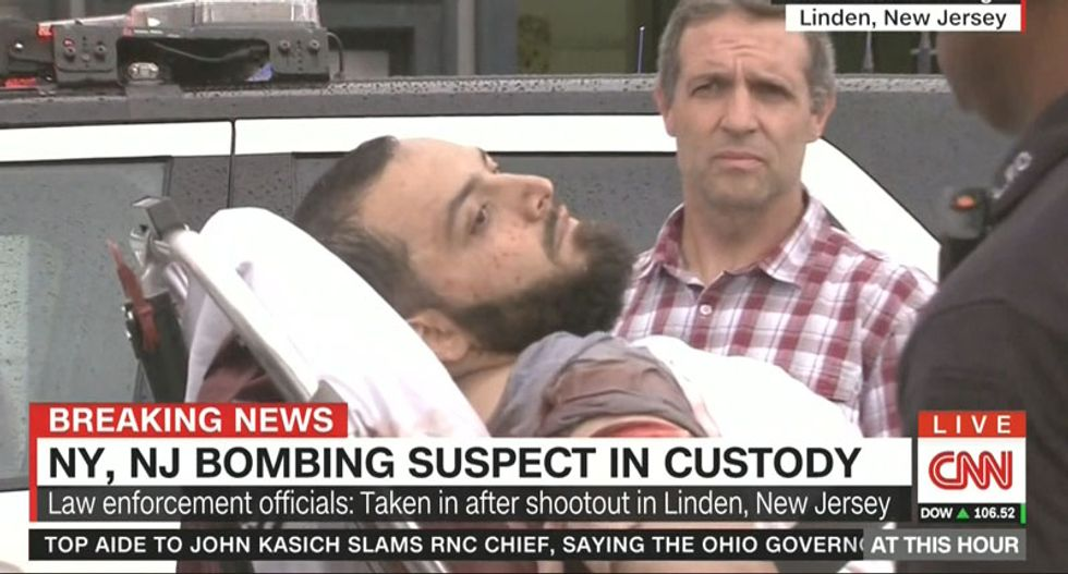 New York bombing suspect Ahmad Khan Rahami could face hearing in hospital bed