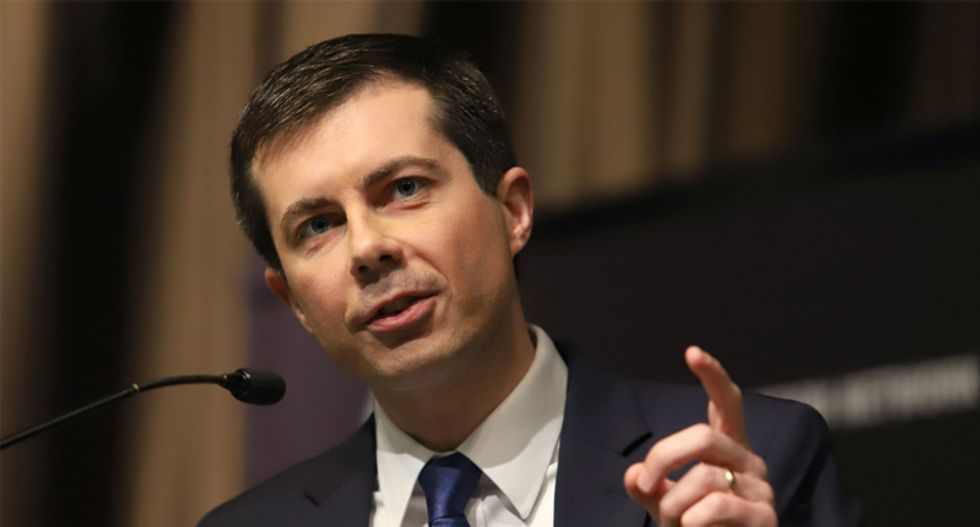 WATCH: Pete Buttigieg trounces Mike Pence in fiery speech at LGBTQ Victory Fund brunch