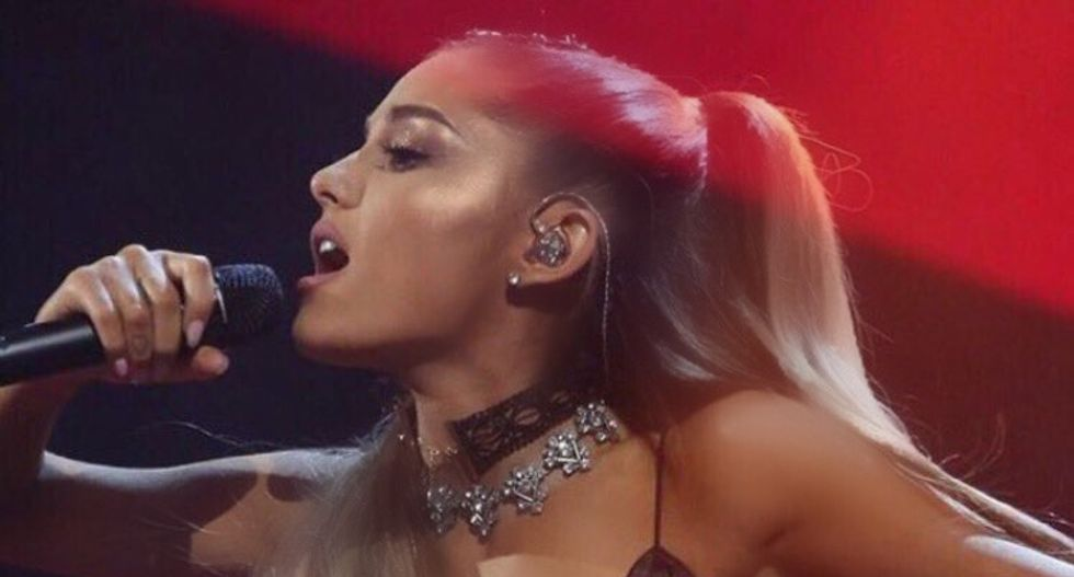 'I am not a piece of meat': Ariana Grande slams fan who praised her boyfriend for 'hitting that'