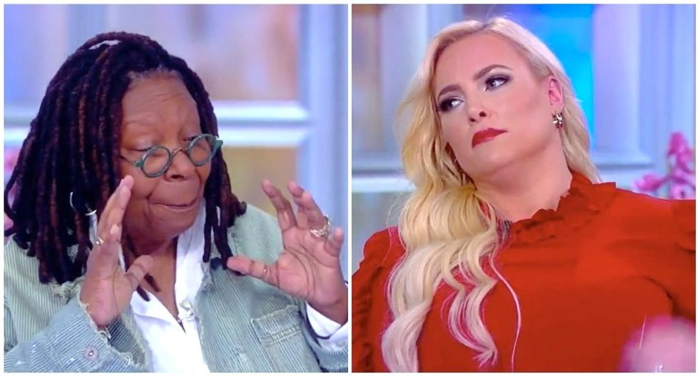 The View's Whoopi Goldberg busts Meghan McCain for repeated interruptions: 'Just let people talk!'