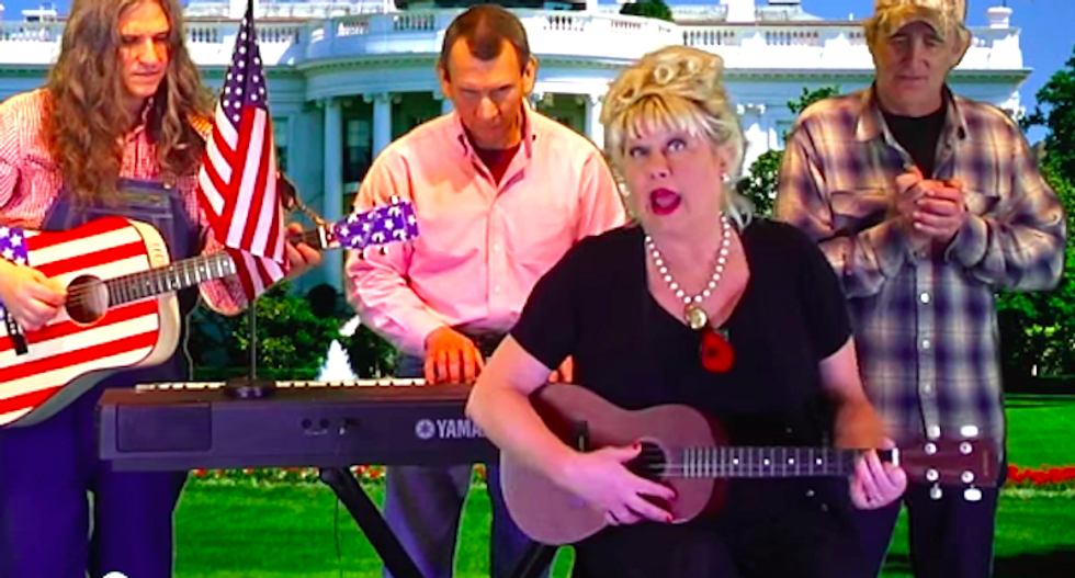 Watch former 'SNL' ditz Victoria Jackson's hilariously awful 'Muslim in the White House' song
