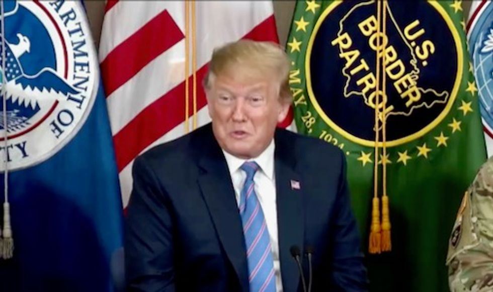 Trump personally spoke to border patrol agents and told them to break the law and lie to judges: report