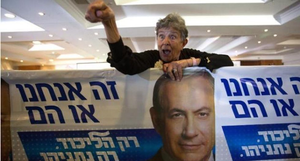 Israel's Likud Party claims vote for left will benefit ISIS