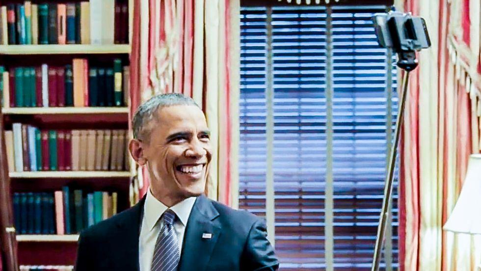 Minnesota newspaper retracts calling Obama an 'assclown' over selfie-stick parody video