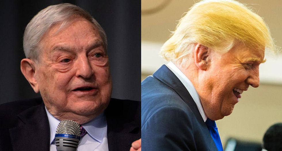 George Soros blasts 'con artist and would-be dictator' Trump in scorching op-ed