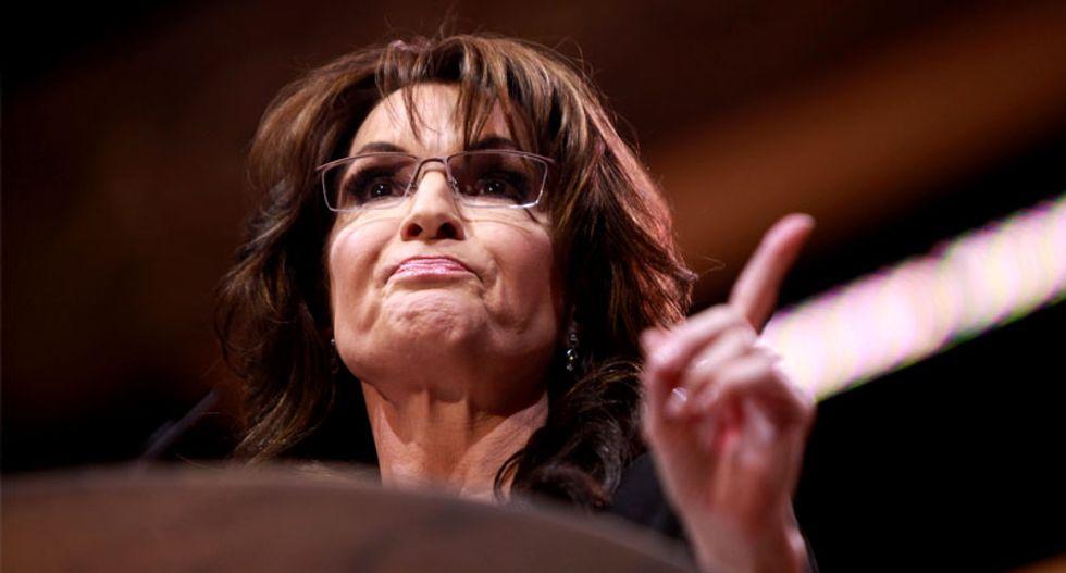 Sarah Palin blames her son's domestic violence arrest on Obama