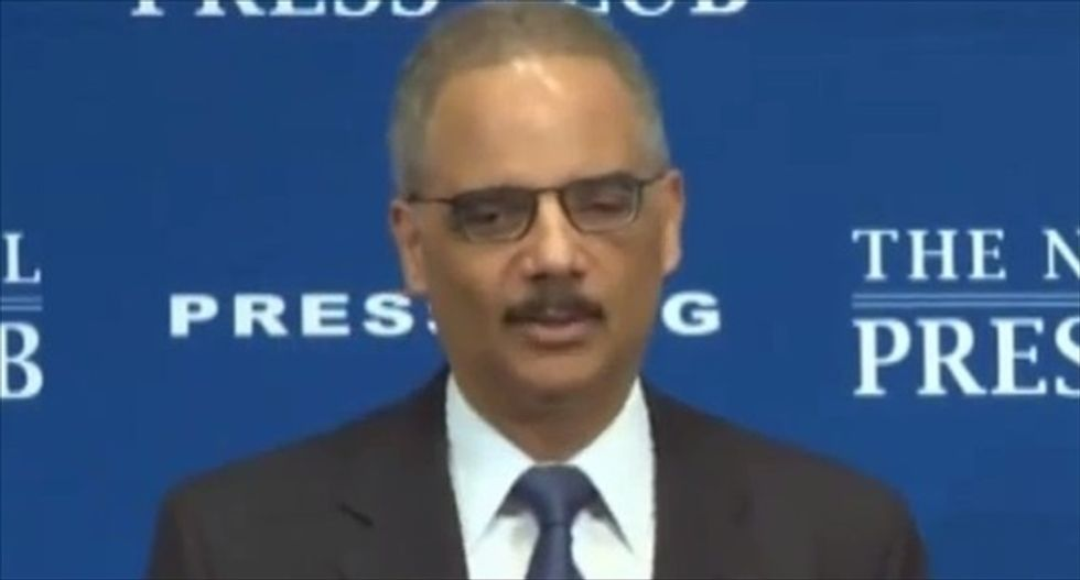 Eric Holder slams Fox's 'radical Islam' obsession: Without it, 'they would have nothing else to talk about'