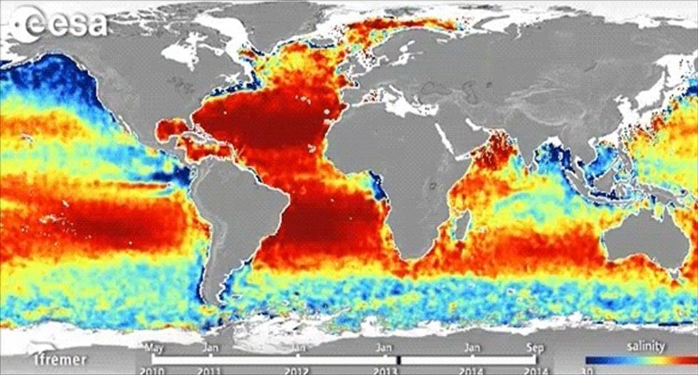 You can now see how greenhouse gases are making the ocean more acidic than ever