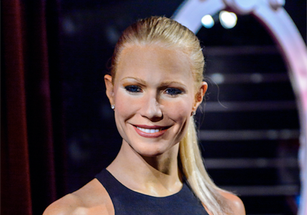 Actress Gwyneth Paltrow congratulates herself on making divorce better for the rest of us