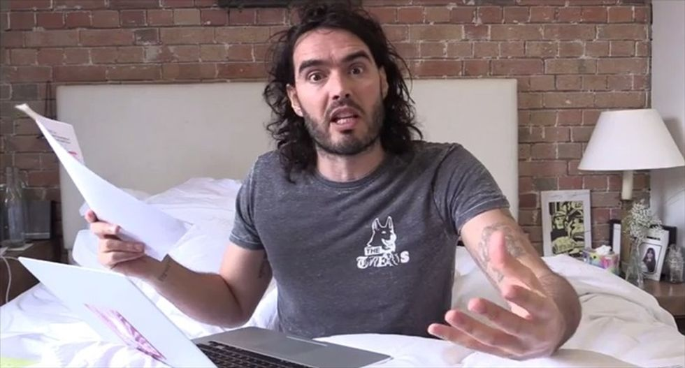 Russell Brand rips coverage of Chapel Hill shootings: 'We can't all send hashtags about parking spaces'
