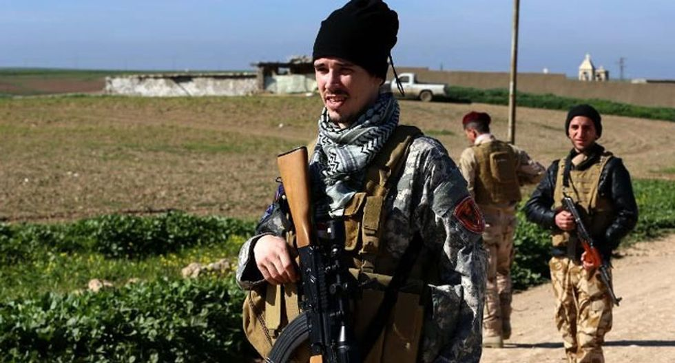 Western volunteers rally to Iraq militia to protect Christians from the Islamic State