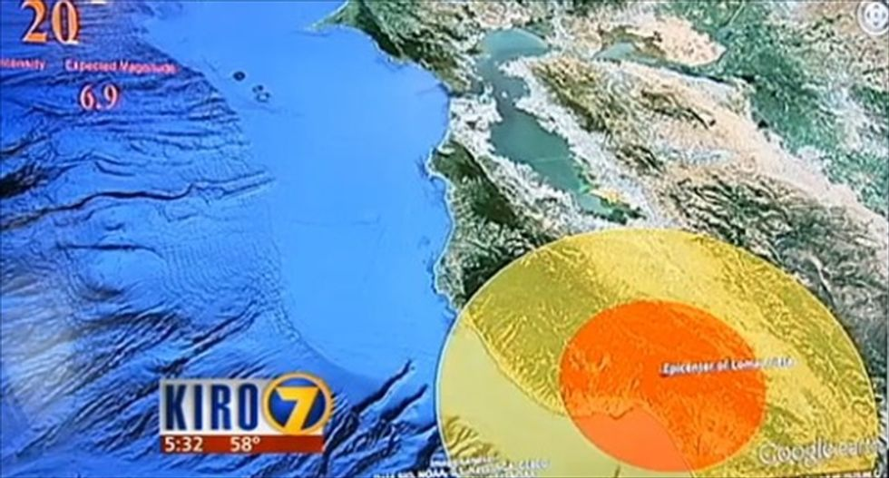 Researchers test early earthquake warning system for Pacific Northwest