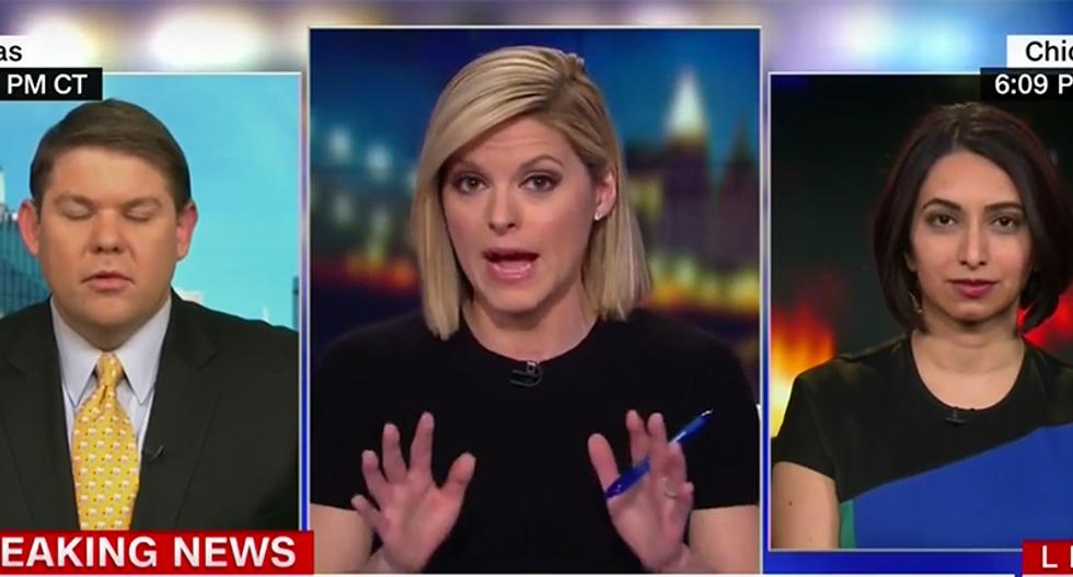 'I will send you some notes': CNN's Kate Bolduan schools Trump surrogate denying Russian hacks