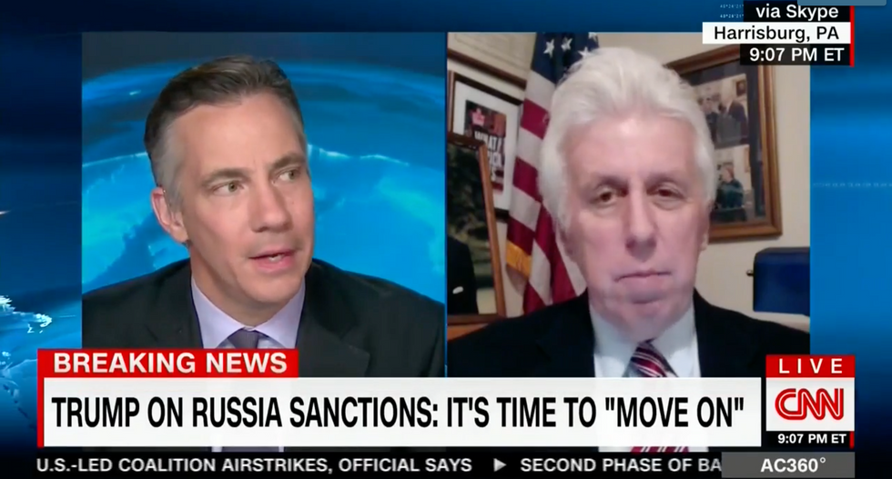 'We all want the facts!': CNN's Jim Scuitto goes off on Jeffrey Lord for dismissing Russian hacking
