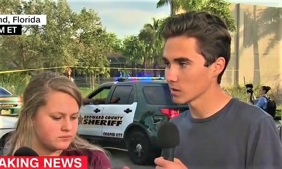 Parkland survivor shrugs off conspiracy theories: 'It makes me know that what I'm doing is right'
