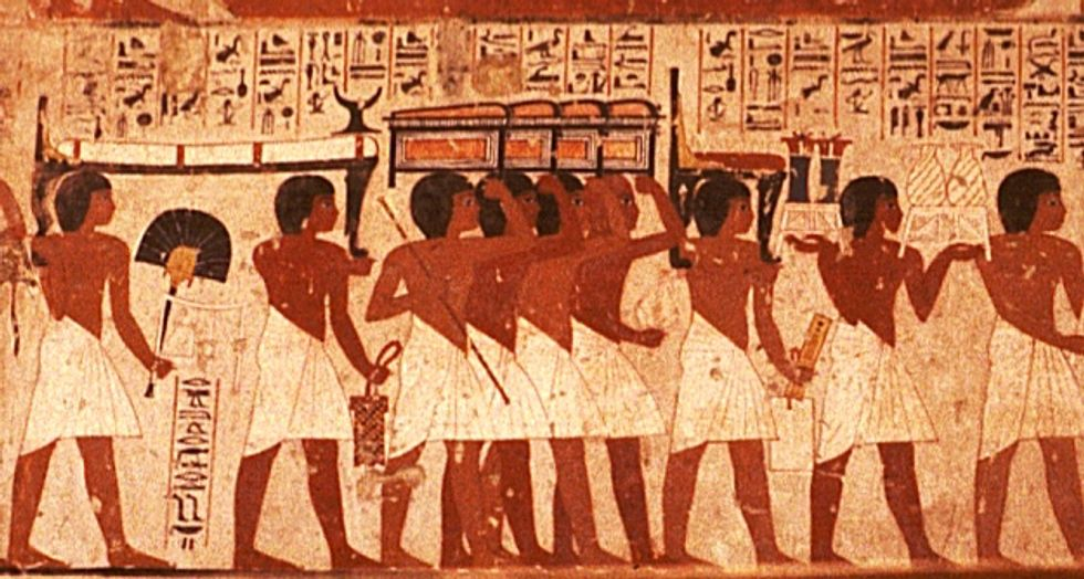 Revealed: Unlike most Walmart workers, ancient Egyptians got paid sick days