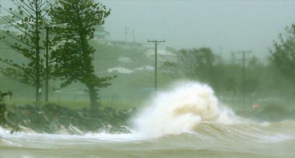 Destruction as massive cyclones hit Australia