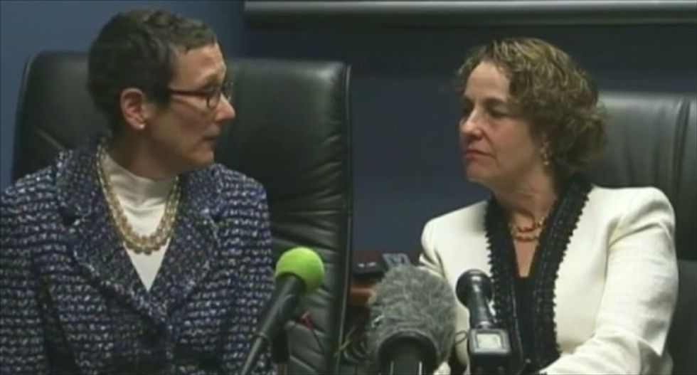 Texas Supreme Court issues emergency order after lesbian couple wins the right to marry