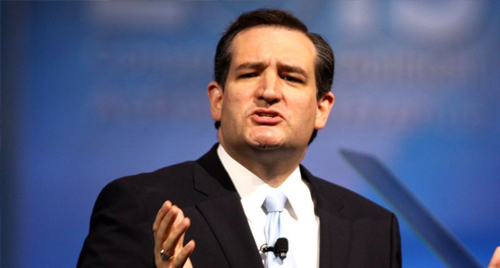 WATCH: Ted Cruz tells Iowa group that gays are waging 'jihad' against Christians