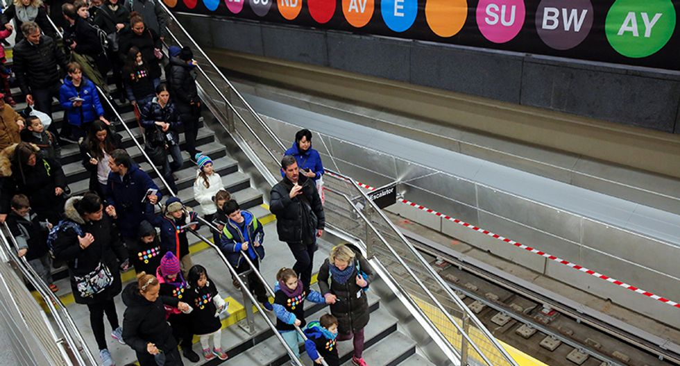 New York tale: a century-old subway dream becomes reality