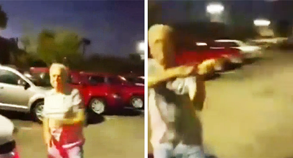 WATCH: 83-year-old Florida man rammed car salesman with his car and beat him with a golf club